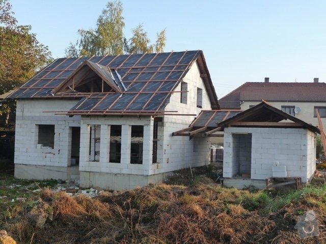 Zhotovení střechy: P1010595