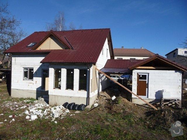 Zhotovení střechy: P1010620