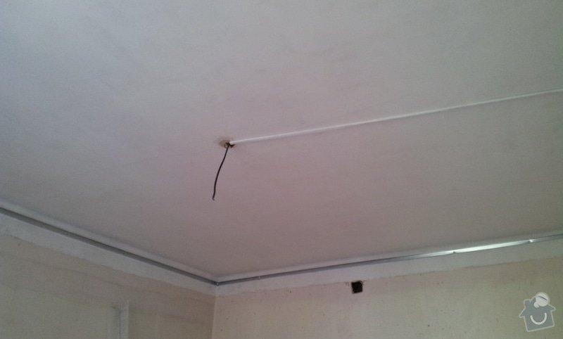 Odhlučnění stěny a podhledy s izolací: 20120528_105001