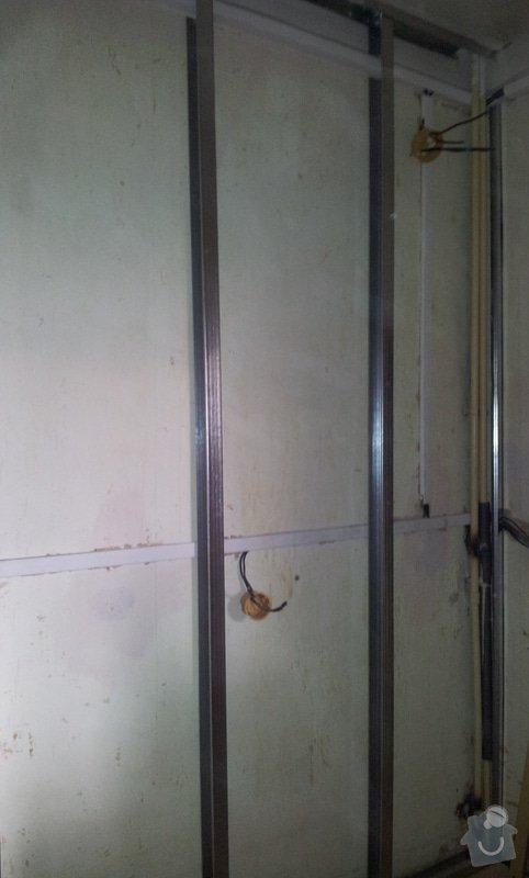 Odhlučnění stěny a podhledy s izolací: 20120528_114805