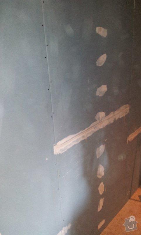 Odhlučnění stěny a podhledy s izolací: 20120528_161624