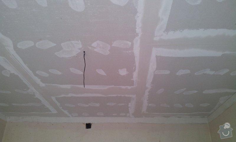 Odhlučnění stěny a podhledy s izolací: 20120528_161655