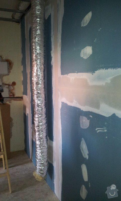 Odhlučnění stěny a podhledy s izolací: 20120529_090100