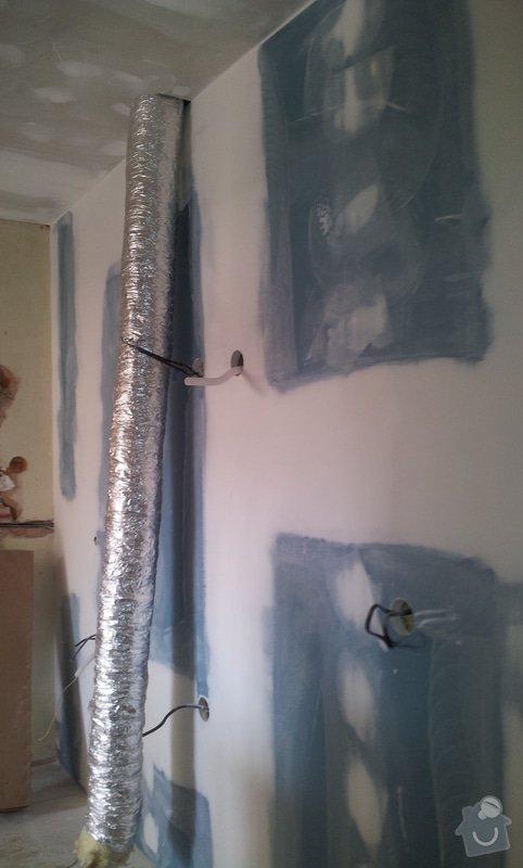 Odhlučnění stěny a podhledy s izolací: 20120530_154842