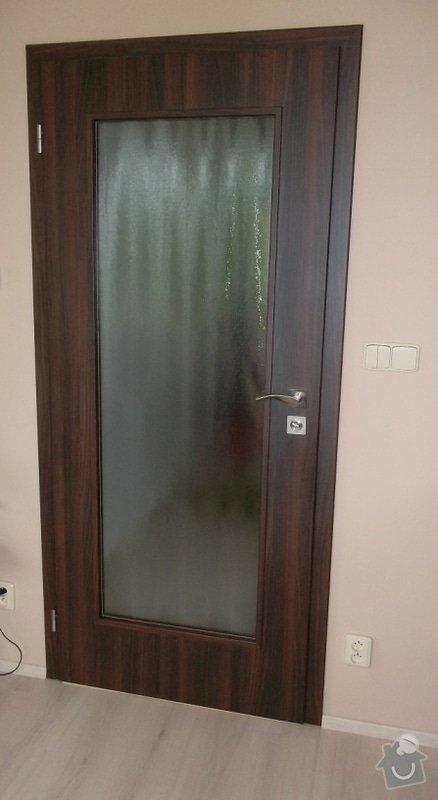 Dodávka amontáž vnitřních dveří vč.obložkových zárubní a dodávka a pokládka plovoucí podlahy-Zdice: SAM_0706