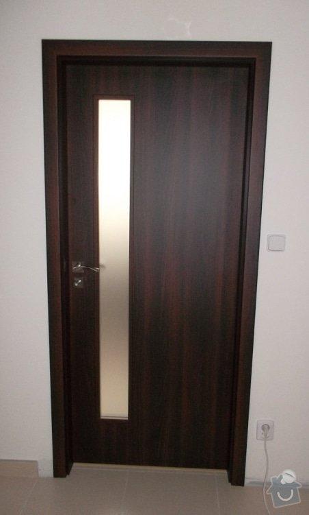 Dodávka amontáž vnitřních dveří vč.obložkových zárubní a dodávka a pokládka plovoucí podlahy-Zdice: SAM_0707