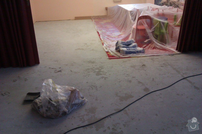 Pokládka PVC : 01_priprava_betonu