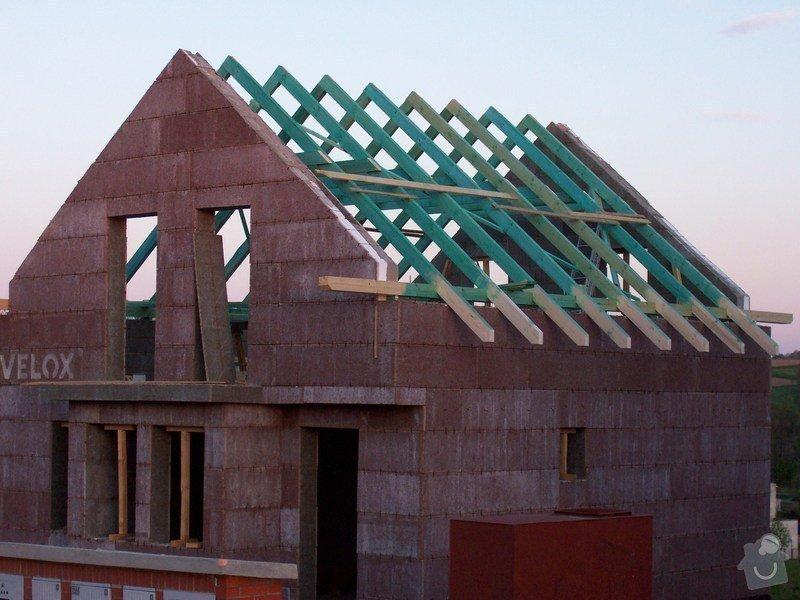 Zhotovení střechy a krovu: 100_5714