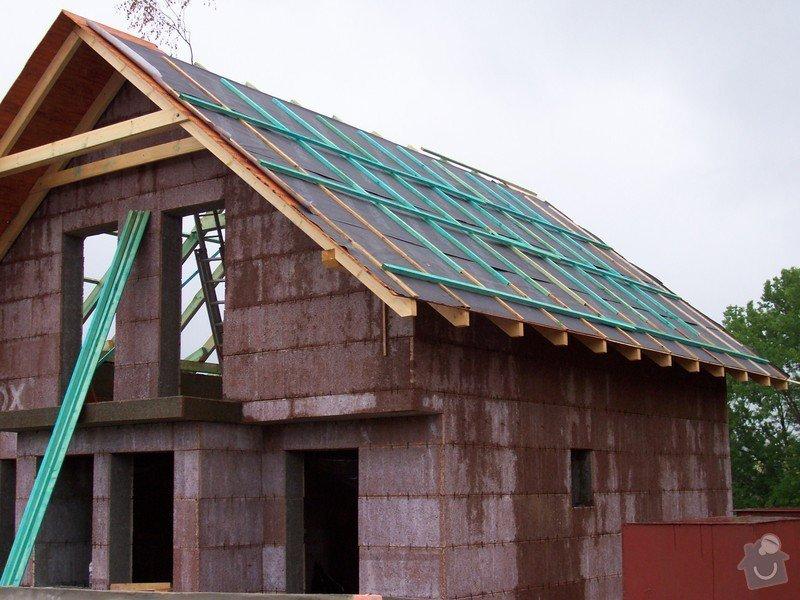 Zhotovení střechy a krovu: 100_5744