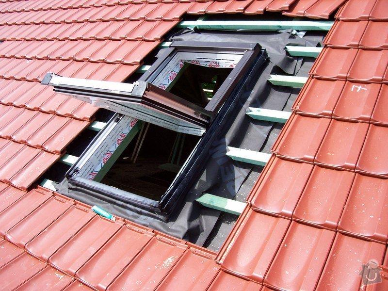 Zhotovení střechy a krovu: 100_5779