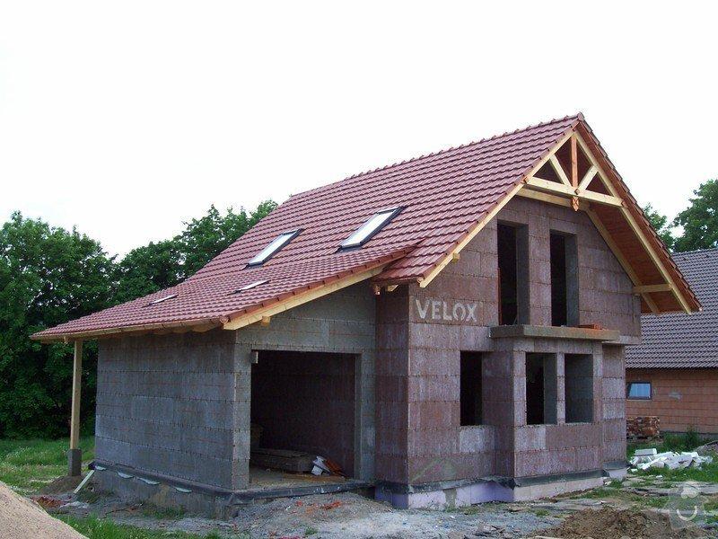 Zhotovení střechy a krovu: 100_5790