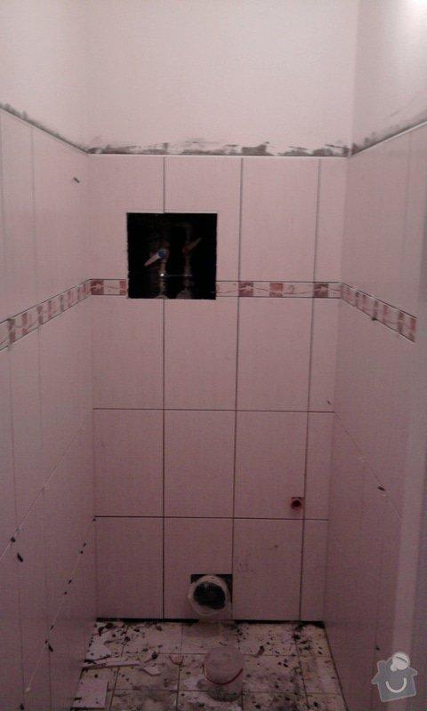 Rekostrukce koupelny a WC: Fotografie0597