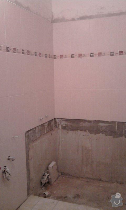 Rekostrukce koupelny a WC: Fotografie0593