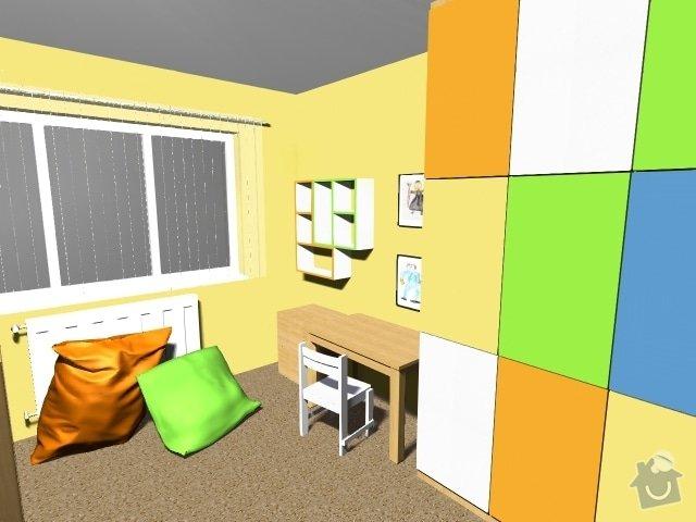 Návrh dětského pokoje: Obrazek5