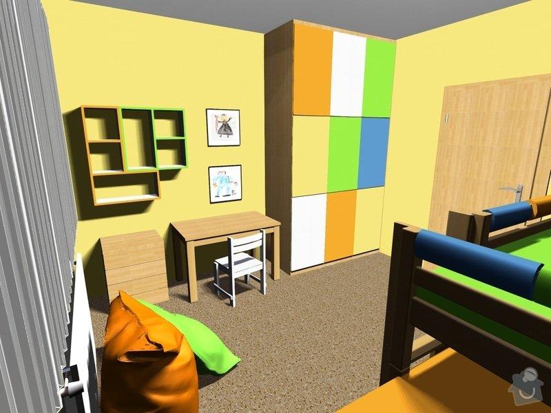 Návrh dětského pokoje: Obrazek1