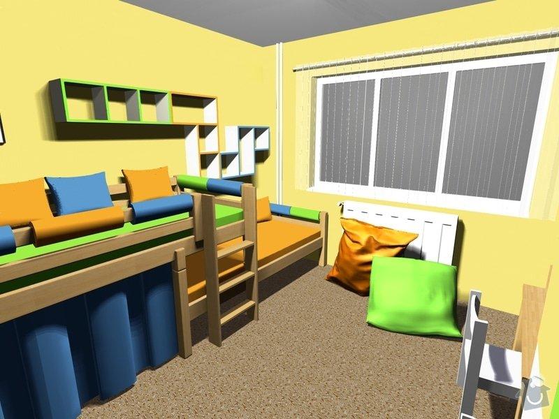 Návrh dětského pokoje: Obrazek2