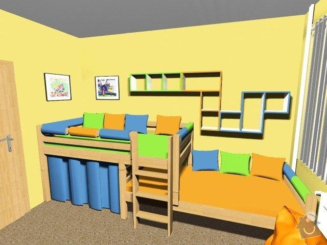 Návrh dětského pokoje: Obrazek3