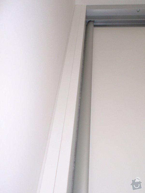 Výroba a montáž 3 ks vestavěných skříní: P5312334