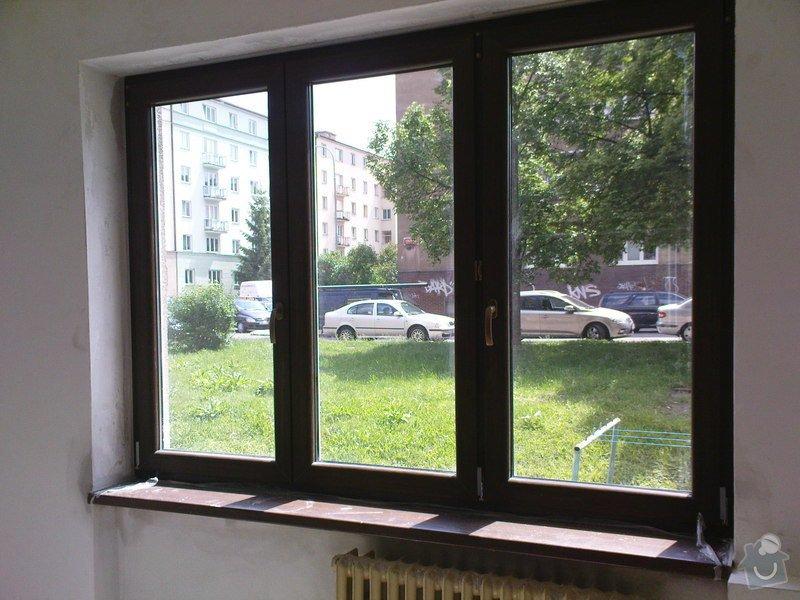 Tři plastová okna: okna_barva-bila
