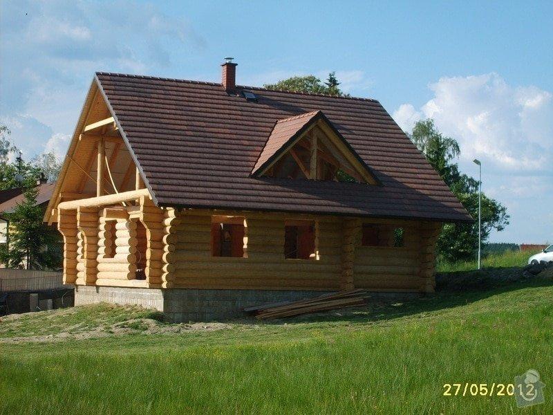 Zhotovení střechy: 1