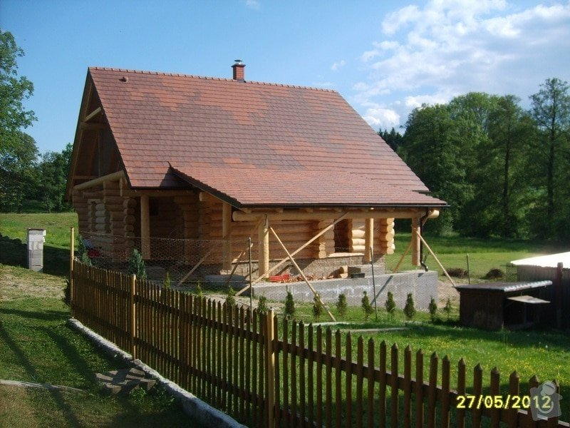 Zhotovení střechy: 3