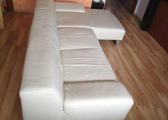 Čištění kožené sedačky a impregnace kožené sedačky