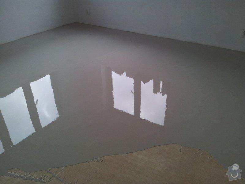 Stěrkování samonivelační stěrkou Thomsit AS1 a pokládka vinylové podlahy Expona Domestic: 2012-05-03_16.25.11