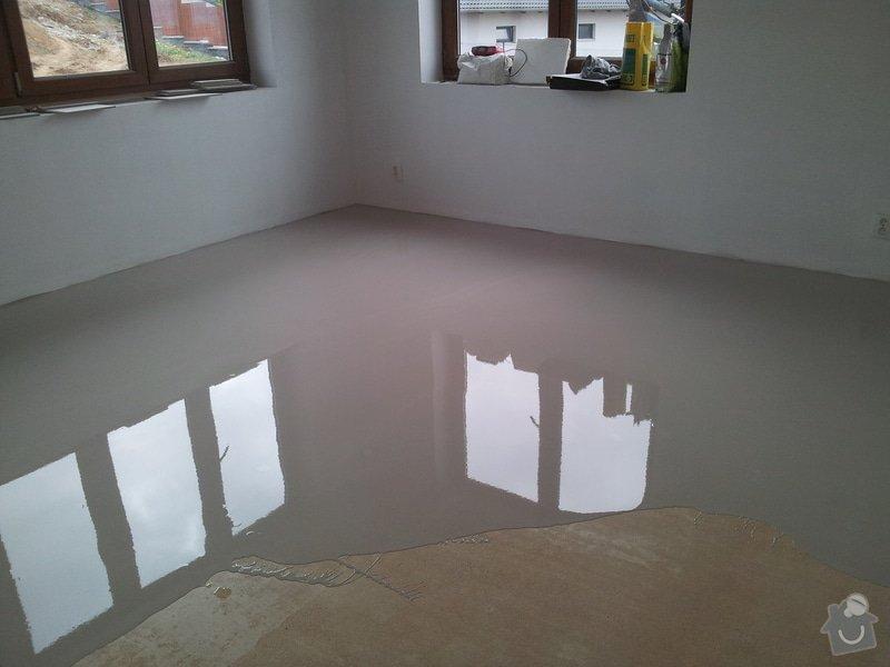 Stěrkování samonivelační stěrkou Thomsit AS1 a pokládka vinylové podlahy Expona Domestic: 2012-05-03_16.25.26