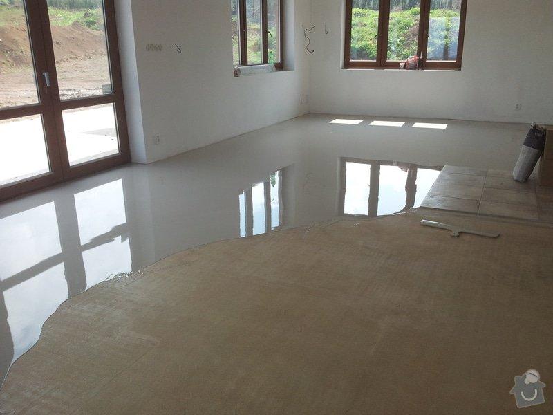 Stěrkování samonivelační stěrkou Thomsit AS1 a pokládka vinylové podlahy Expona Domestic: 2012-05-08_14.26.46