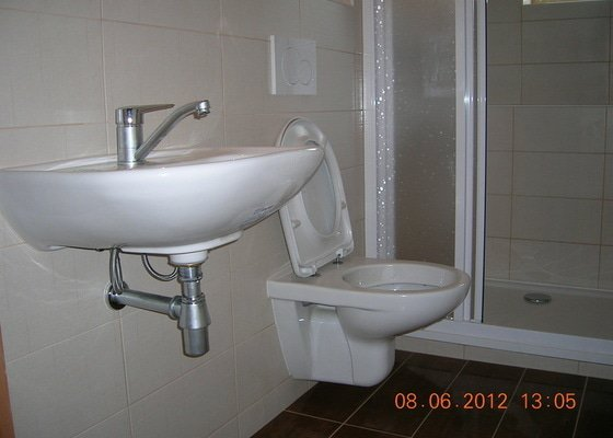 Rekonstrukce koupelny na chalupě
