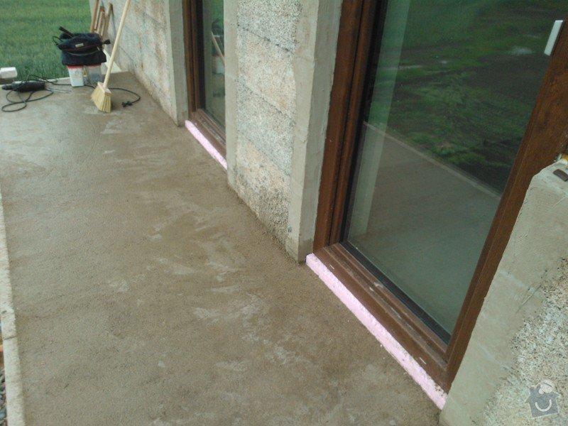 Izolace balkonu RD Kohoutovi: WP_000187
