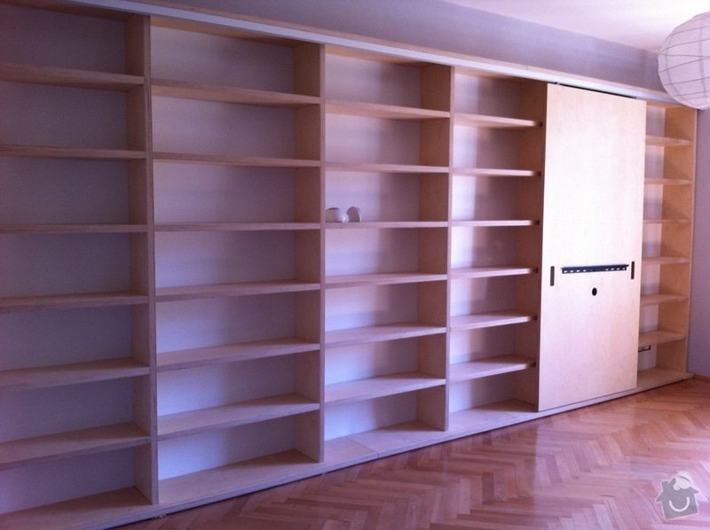 Výroba atypické knihovny na přání: IMG_1293