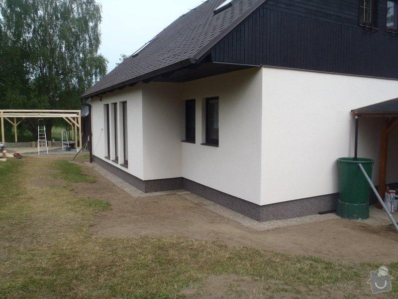 Fasáda RD Mnichovice: P6100933