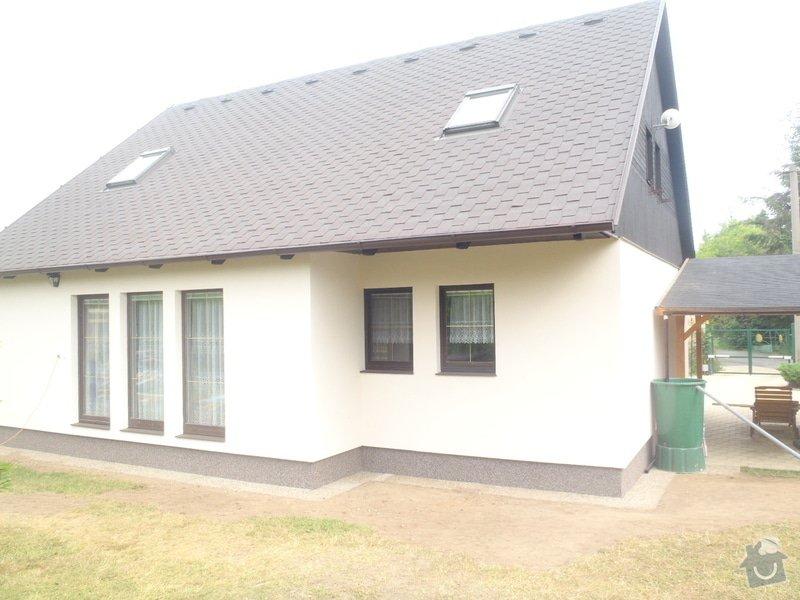 Fasáda RD Mnichovice: P6100932