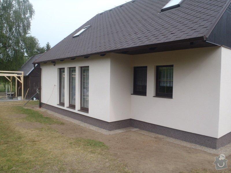 Fasáda RD Mnichovice: P6100935