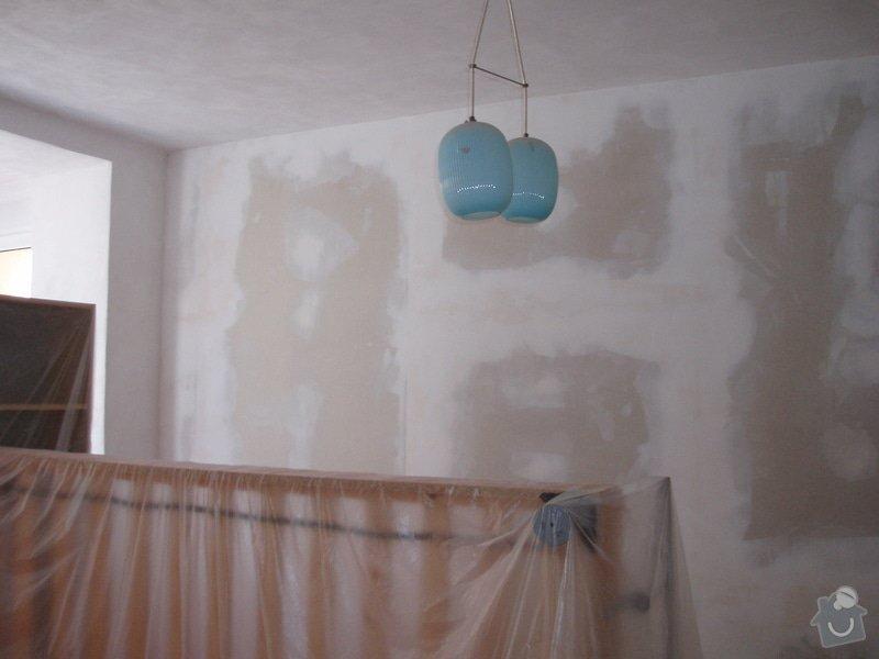 Malování (2 pokoje), štukování cca 3 m2: 004