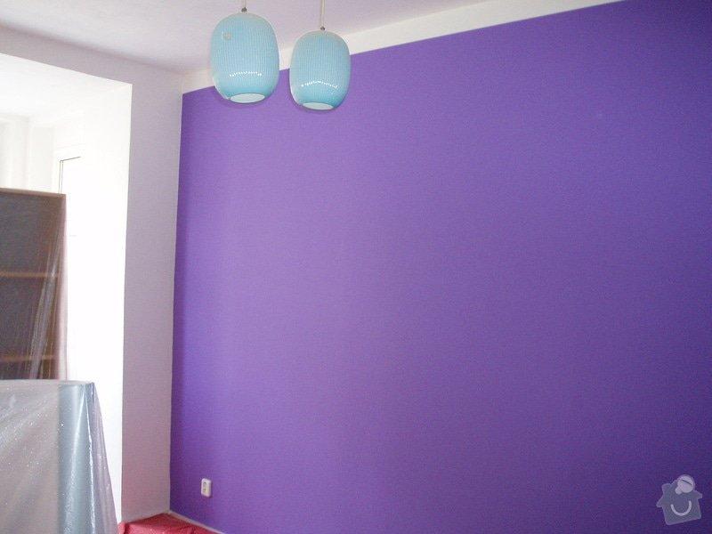 Malování (2 pokoje), štukování cca 3 m2: 008
