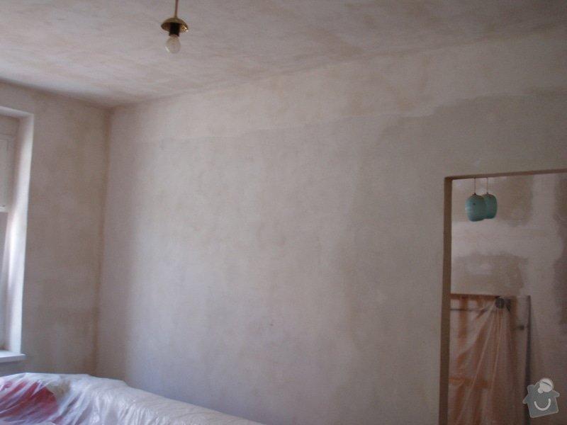 Malování (2 pokoje), štukování cca 3 m2: 005