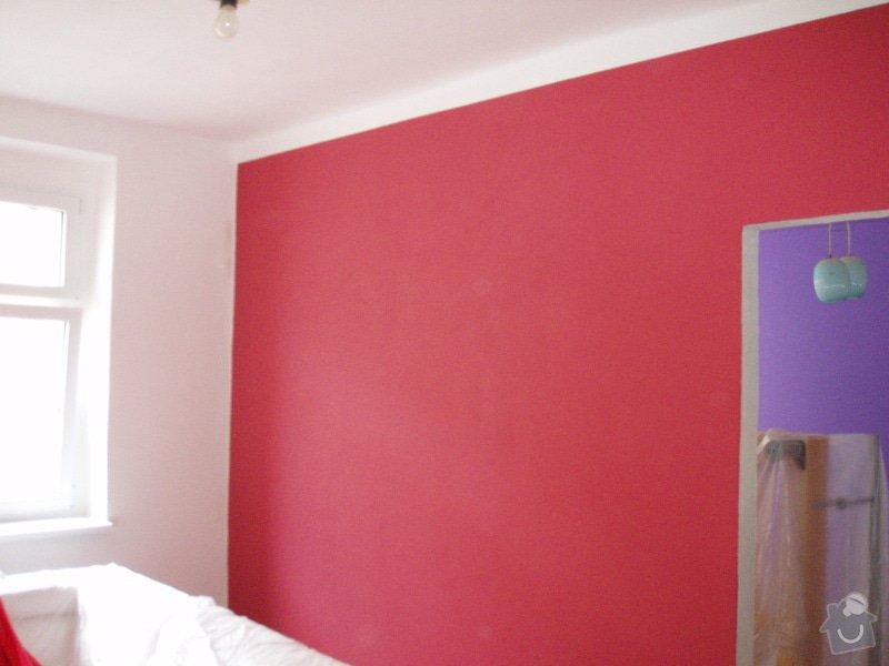 Malování (2 pokoje), štukování cca 3 m2: 006