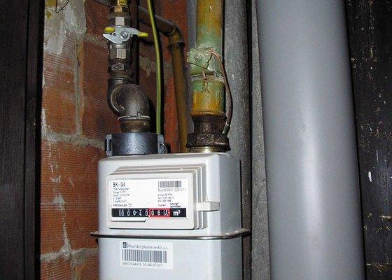 Výměna plynového vedení v bytě