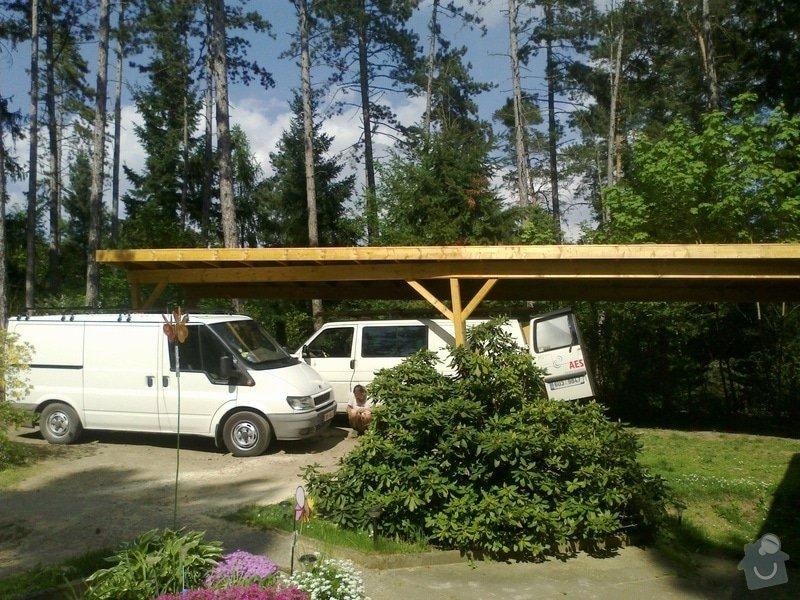 Terasa s pergolou a přístřešek pro auto: 04052012368