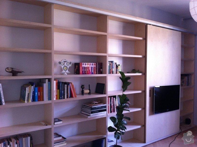 Výroba atypické knihovny na přání: IMG_1334