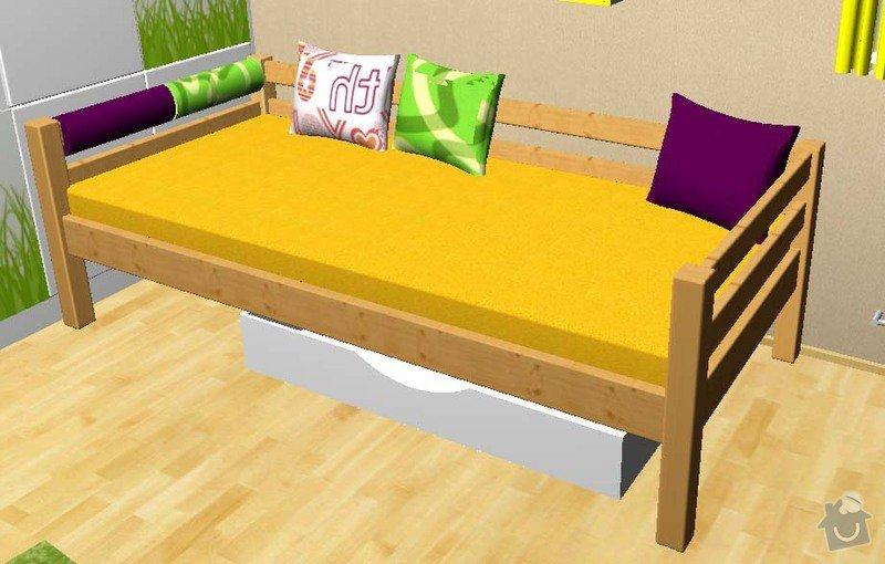 Nábytek z masivu: postel