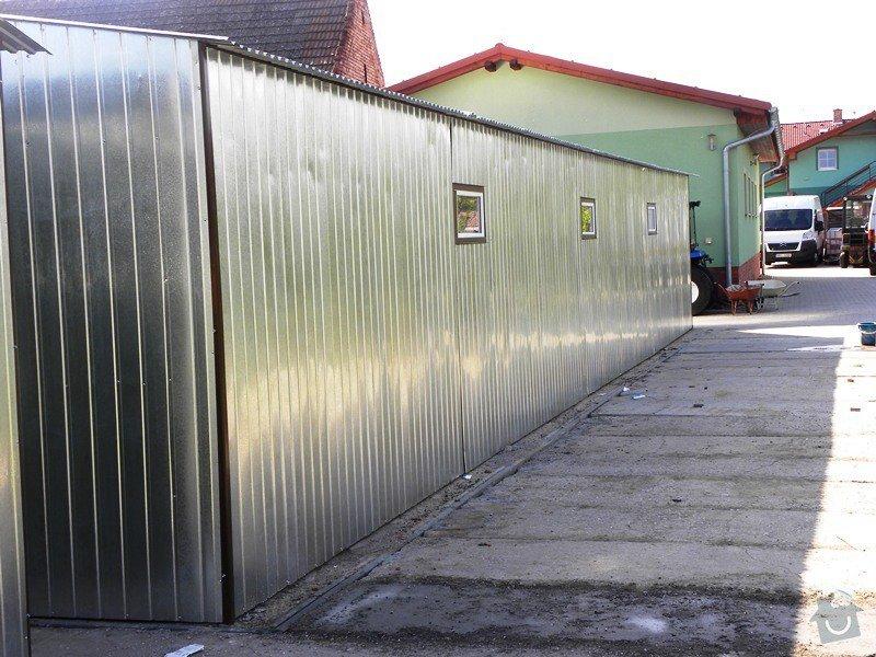 Plechová montovaná garáž: 2_2_