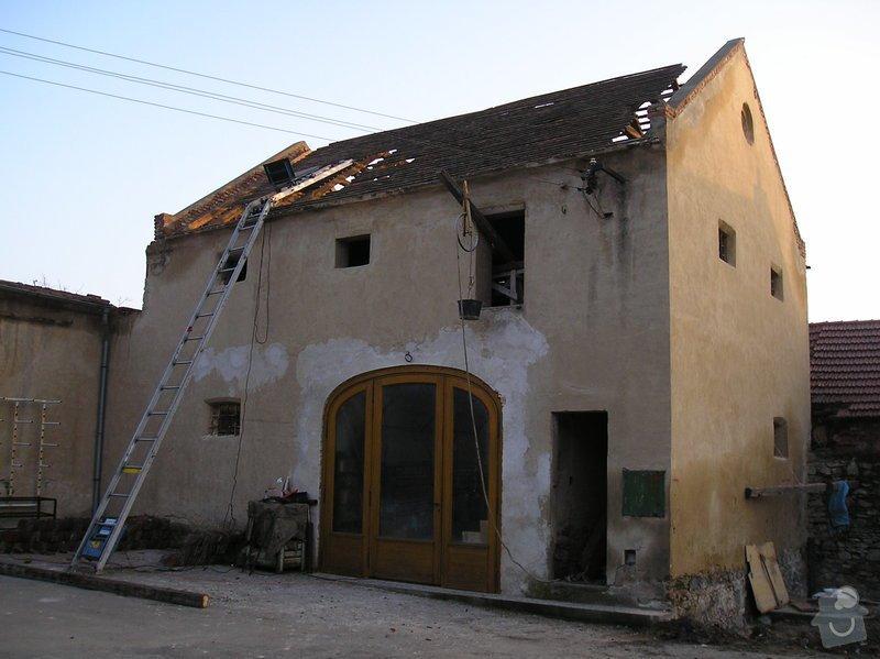 Rekonstrukce střechy sýpky: Snimek_096