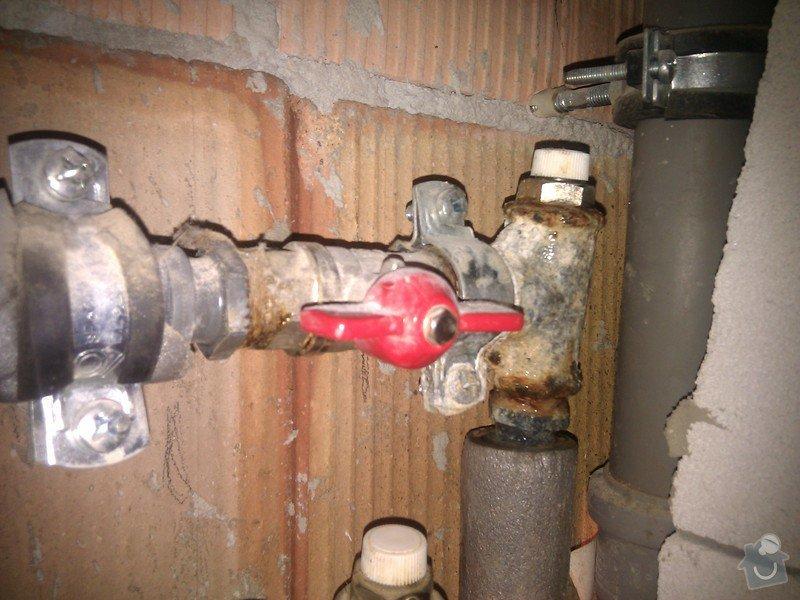 Oprava prosakující vody z topení: IMG_20120616_110643