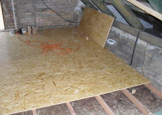 Zateplení podlahy v podkroví