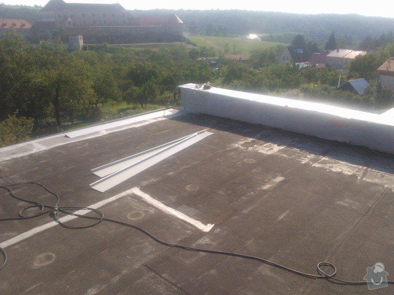 Izolace střechy folii PVC Sikaplan 15G RD Fatrdlová: WP_000200