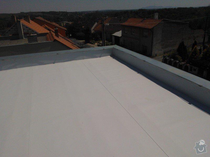 Izolace střechy folii PVC Sikaplan 15G RD Fatrdlová: WP_000204