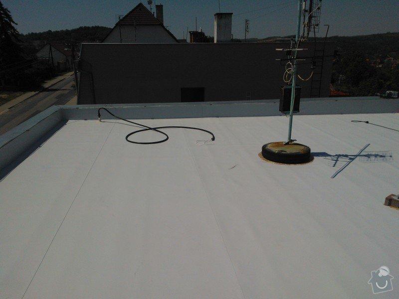 Izolace střechy folii PVC Sikaplan 15G RD Fatrdlová: WP_000205